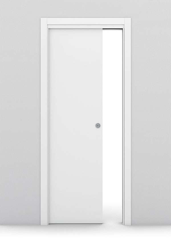 BRAGA - Porte Interne - Apertura scorrevole interno muro